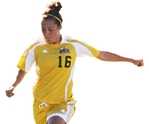 UMFK women's soccer player