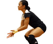UMFK women's volleyball player