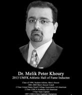 photo of Dr. Melik Khoury