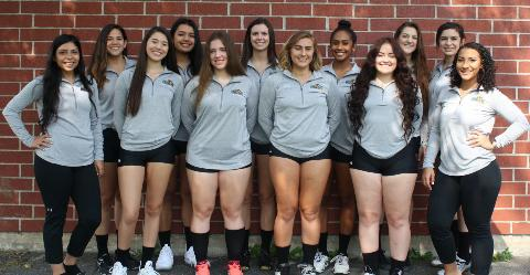 2018-2019 Women's Volleyball Team