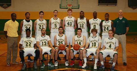 2012-2013 Men's Basketball Team