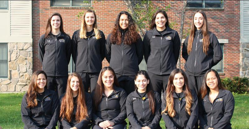 2017-2018 Women's Volleyball Team