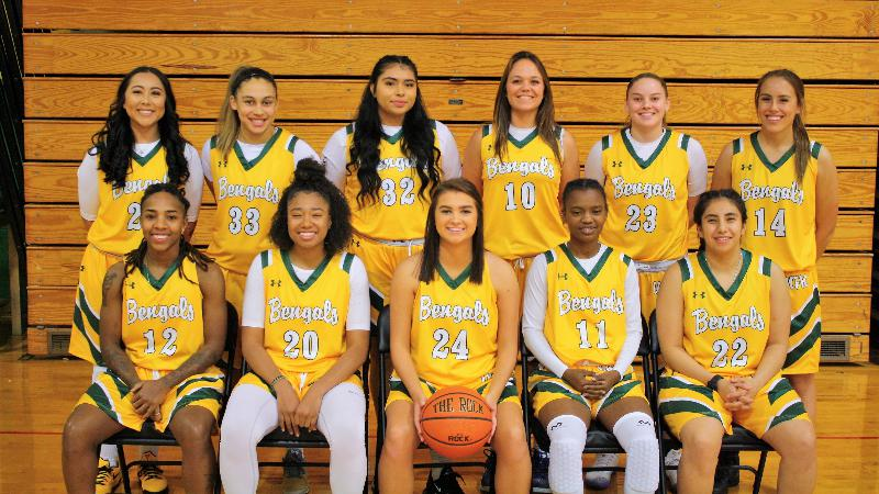 2018-2019 Women's Basketball Team