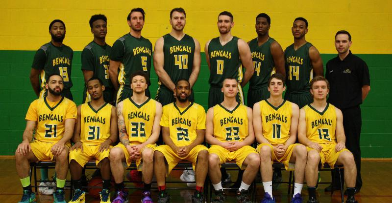 2015-2016 Men's Basketball Team