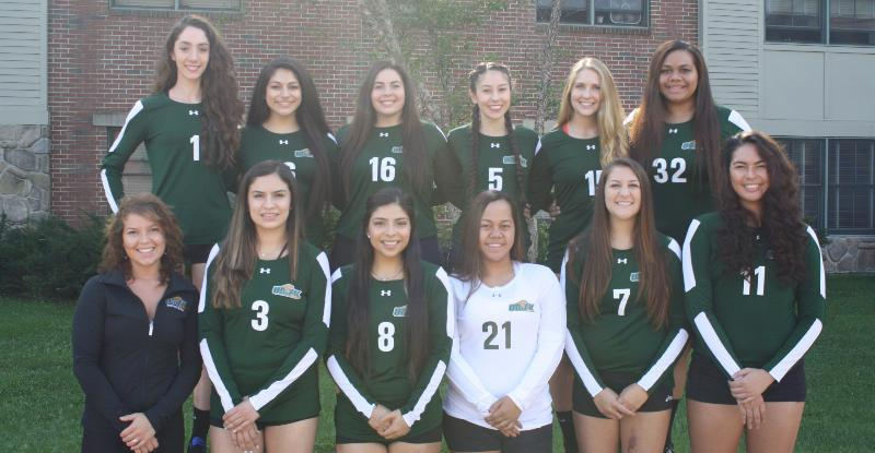 2016-2017 Women's Volleyball Team